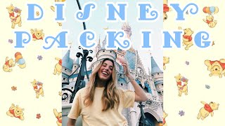 PACK WITH ME FOR DISNEY // OUTFITS, TIPS, AND HOW TO PACK