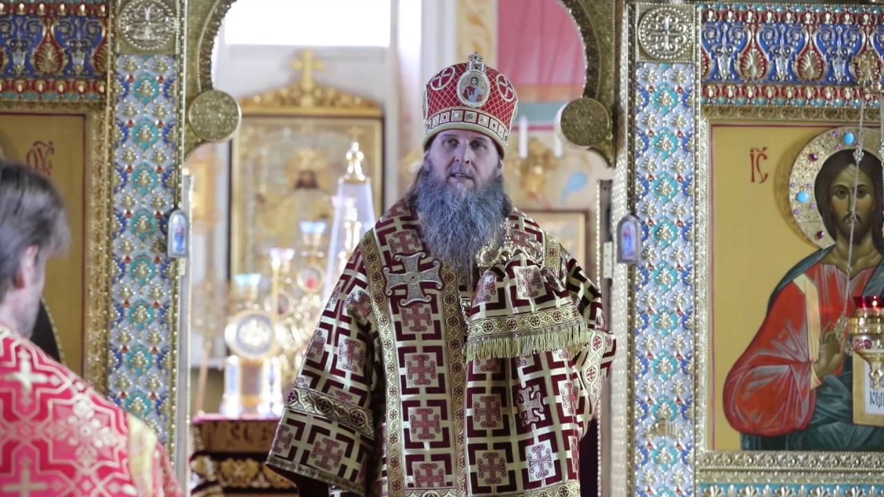 Литургия в день памяти святителя Игнатия (Брянчанинова).Проповедь митрополита Даниила