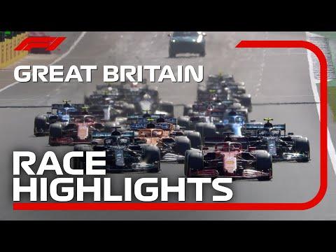 F1第10戦イギリスGP(シルバーストン)の決勝レースハイライト動画