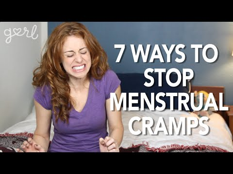 7 Ways To Stop Menstrual Cramps