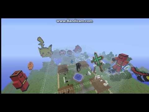 Minecraft 1 7 2 Cracked Server - EmeraldBattleCraft with Survival