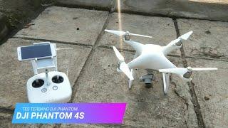 Test terbang dji phantom 4 standar