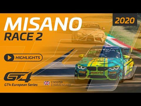 2020年 ブランパンGTシリーズ(ミサノ) GT4レースハイライト動画