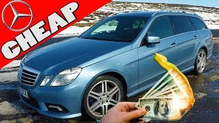 I Bought the Cheapest E Class Sport W212 in the COUNTRY = PROBLEMS