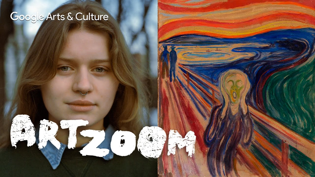 Art Zoom: Girl in Red x Edvard Munch