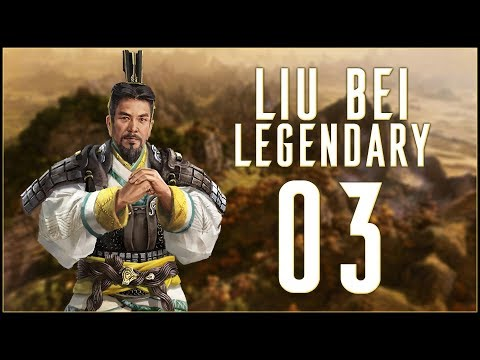 KEEPING IT IN THE FAMILY - Liu Bei (Legendary) - Total War: Three Kingdoms - Ep.03!