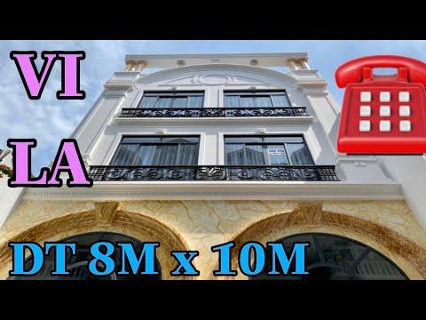 Bán nhà Gò Vấp | VILA tuyệt đẹp 8m x 10m thiết kế cực kỳ chắc chắn đường Nguyễn Oanh P6 |
