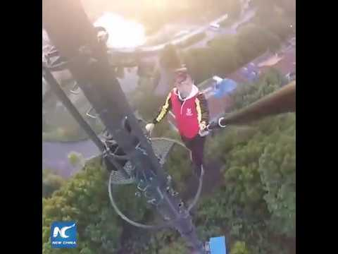 26-year-old rooftopping daredevil falls from skyscraper in Changsha, China