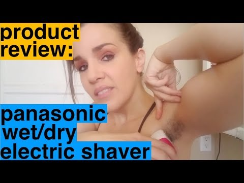 Product Review: Panasonic Wet/Dry Electric Shaver for Underarm Use by Women