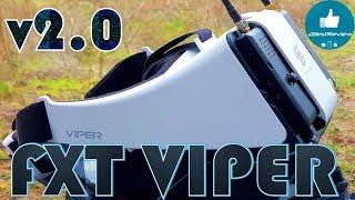 ✔ Уникальный FPV Шлем FXT Viper V2.0 5.8GHz, Diversity, DVR!