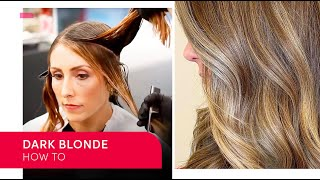 How To Create Dark Blonde Hair With Zoe Irwin | Wella Professionals