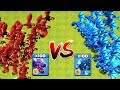 100 MAX ELECTRO DRAGON VS 100 MAX DRAGON ATTACK ON COC CLASH OF CLANS TH12 UPDATE NEW TROOPS