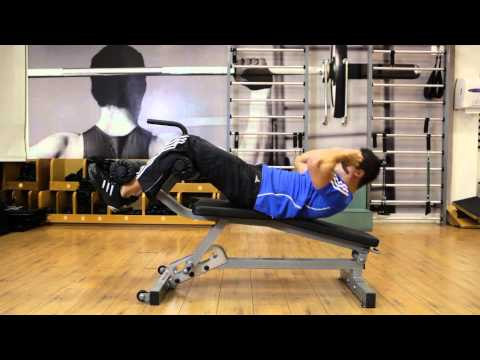 Decline Crunch - Abs Exercise