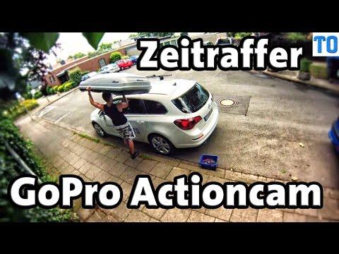 GoPro Zeitraffer 0,5sek Intervall | Auto Dachbox und Fahrradträger anbringen