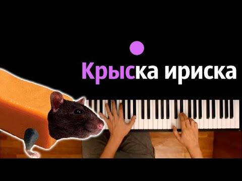 🐭🌭 Крыска-ириска, кот-бутерброд, авокадо-бегемот ● караоке | PIANO_KARAOKE ● ᴴᴰ + НОТЫ & MIDI