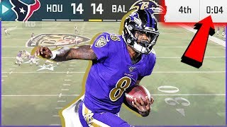 Can Lamar Jackson Be CLUTCH With The Game On The Line!? (Madden 20)