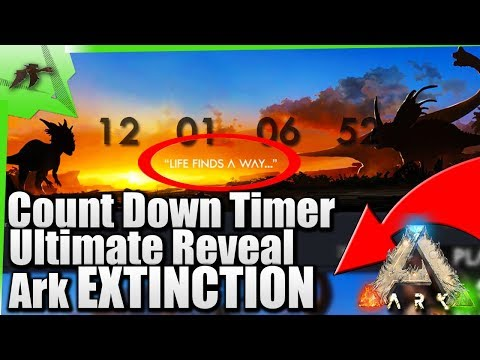 WIldcard's Countdown Timer| Ultimate Reveal Ark Extinction DLC Update/The End?| Ark Survival 2018