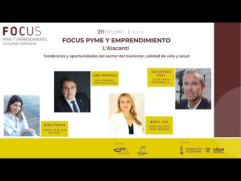 Tendencias y  oportunidades del sector de bienestar, calidad de vida y salud - Focus Pyme y emprendimiento Alacantí 20[;;;][;;;]