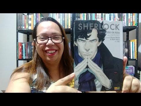 HQ Sherlock | Um Estudo em Rosa   #04