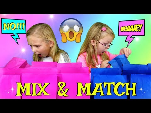 MIX and MATCH Food Challenge!!! - Magic Box Toys Collector