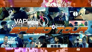Vapexpo 2015 : Le SPEED TOUR