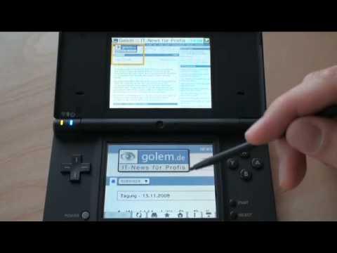 Nintendo DSi - Golem.de - Test
