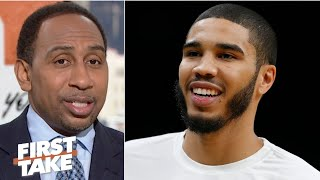 Jayson Tatum is ascending! – Stephen A. | First Take