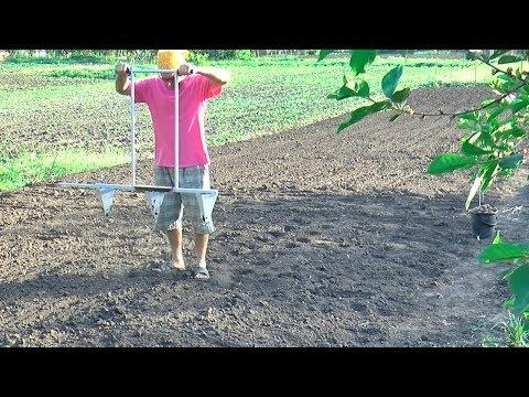 НАНО - картофелесажалка - как быстро посадить картошку - маркер для посадки картошки