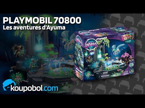 Vidéo PLAYMOBIL Ayuma 70800 : Source d'énergie enchantée