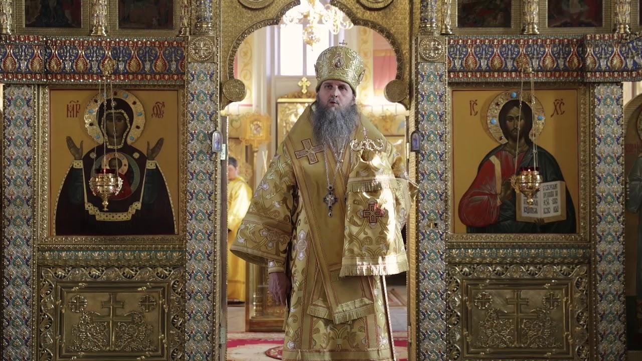Проповедь в храме Александра Невского