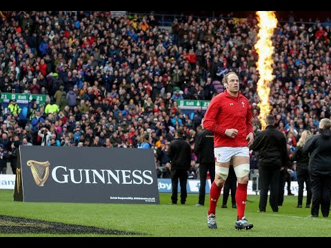 Welsh anthem before Scottish Test! | Guinness Six Nations