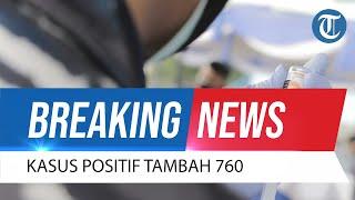 BREAKING NEWS: Update Corona 22 Oktober 2021 Kasus Positif Bertambah 760 Orang