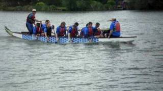 preview picture of video 'Dragon Boat Race 2009 - #4'