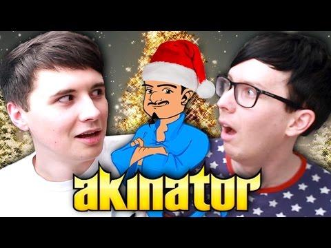 Dan and Phil BEAT AKINATOR!