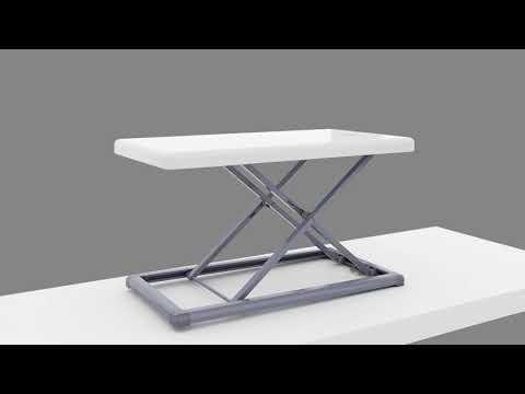 Rocelco PDRW – Portable Desk Riser