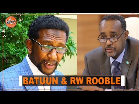 """""""Rooble Waa Raysal Wasaare Reereed,"""" Xildhibaan Barkhad Jaamac Batuun"""