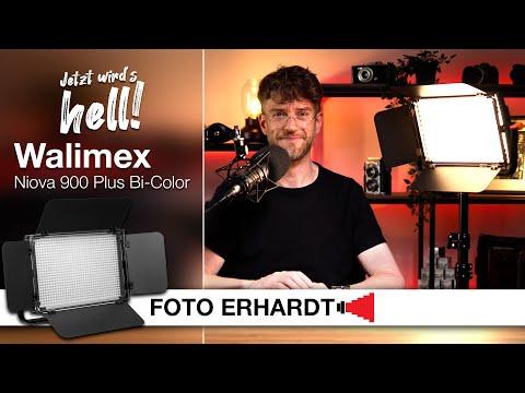 Vorgestellt: Die Walimex Niova 900 Plus Bi-Color LED-Flächenleuchte