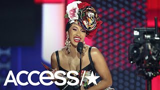 AMAs 2018: Cardi B Thanks Husband Offset & Their Infant Daughter In Adorable Speech | Access