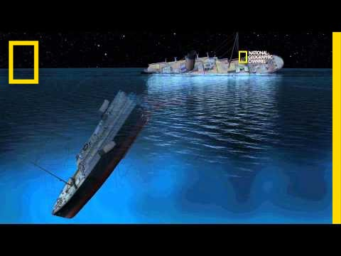 New Detailed Reconstruction Of Titanic's Sinking Narrated By James Cameron