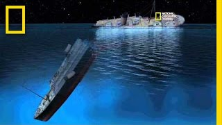 New CGI of How Titanic Sank | Titanic 100
