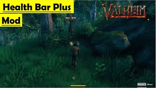Valheim Health Bar Plus Mod - How to Install and Gameplay