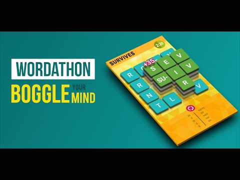 Video of Wordathon: Classic Word Game