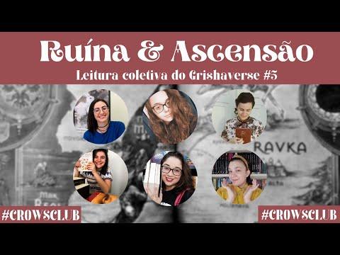 LIVE DE DISCUSSÃO RUÍNA & ASCENSÃO (Leitura Coletiva do Grishaverse #5) | CROWS CLUB