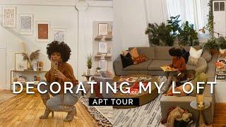 VLOG Decorating My Loft & Apartment Tour! #LoftLivin