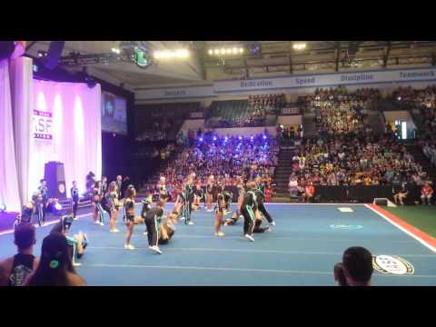 Coed Elite 2015 worlds stops for injury