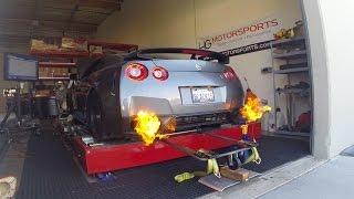 HG Motorsports Nissan GTR Dyno Fireball