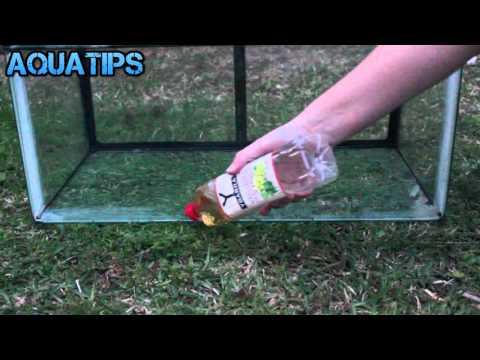 Como eliminar sarro o cal de los cristales paso a paso || AquaTips