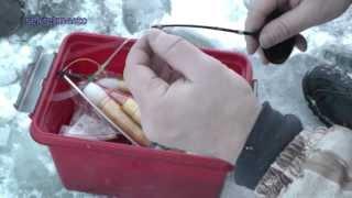 Не удачная зимняя рыбалка по первому льду. Видеоотчет.