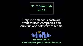 IT Techno-Phobes Limited Tip 11 – IT Support Services In The West Midlands
