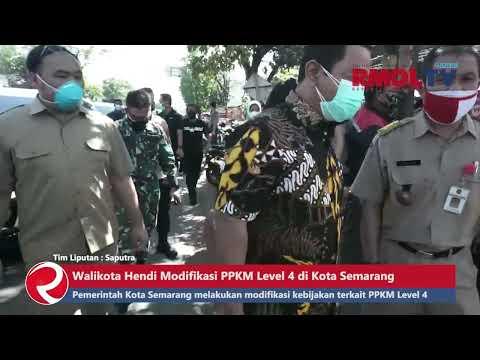 Walikota Hendi Modifikasi PPKM Level 4 di Kota Semarang